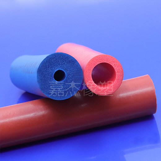 耐高温硅胶发泡管